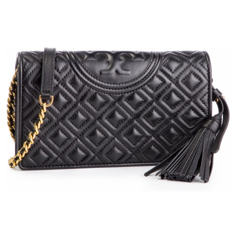 Torebka TORY BURCH - Fleming Wallet 50263 Black 001