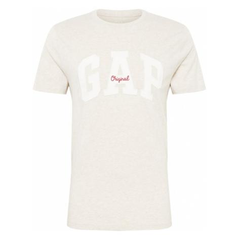 GAP Koszulka 'ORIG ARCH T' beżowy / biały