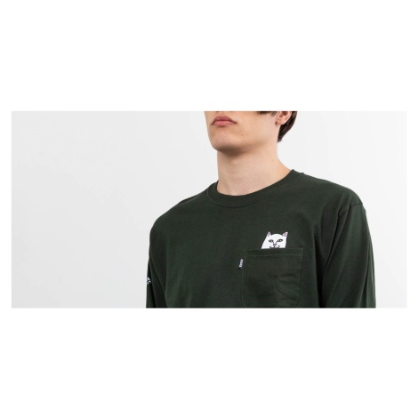 RIPNDIP Lord Nermal Longsleeves Tee Hunter Green