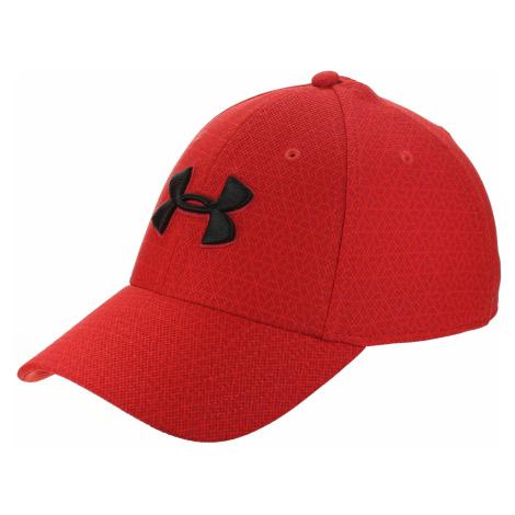 czapka z daszkiem Under Armour Printed Blitzing 3.0 - 890/Radio Red/Red
