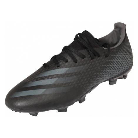ADIDAS PERFORMANCE Buty piłkarskie 'X Ghosted.3 FG' czarny / szary
