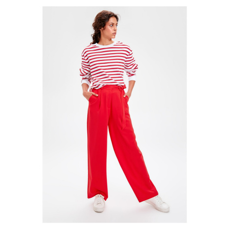 Trendyol Red Button Detailed Pants