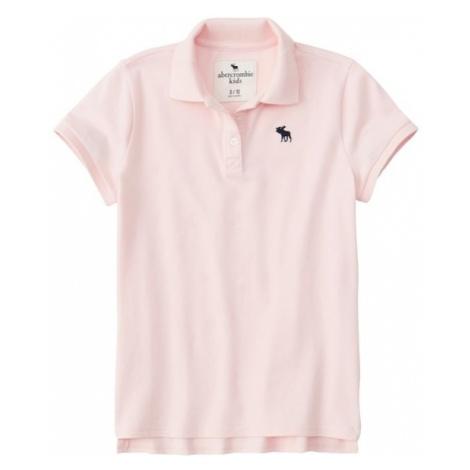 Abercrombie & Fitch Koszulka 'SB19-J2 DTC POLO 3CC' różowy pudrowy