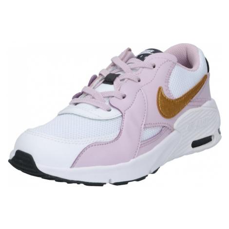 Nike Sportswear Trampki 'Air Max Excee' złoty / liliowy / biały