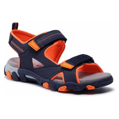 Sandały SUPERFIT - 1-009450-8000 D Blau/Orange