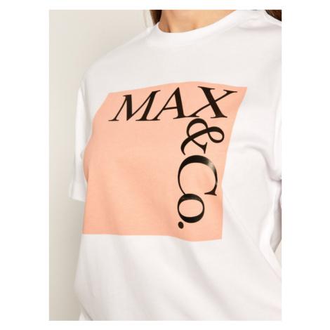 MAX&Co. T-Shirt Tee Rose 49749620 Różowy Regular Fit