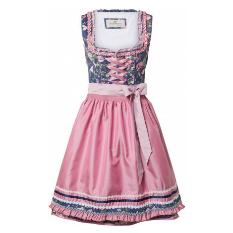 STOCKERPOINT Dirndl 'Bruna' różowy / mieszane kolory / niebieski