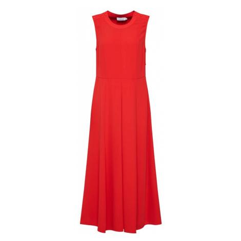 Calvin Klein Sukienka 'SMOOTH TWILL' czerwony
