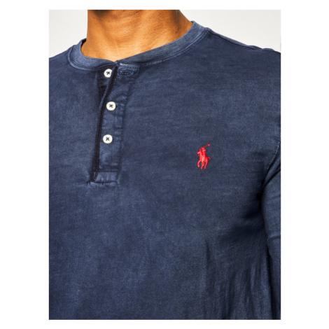 Polo Ralph Lauren Longsleeve Classics 710790058 Granatowy Regular Fit