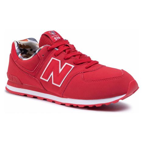 Sneakersy NEW BALANCE - GC574GYI Czerwony