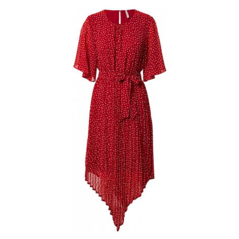 Pepe Jeans Sukienka 'PILUCA' czerwony / biały