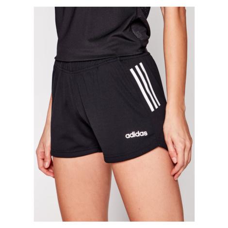 Adidas Szorty sportowe Design 2 Move 3-Stripes DS8725 Czarny Regular Fit