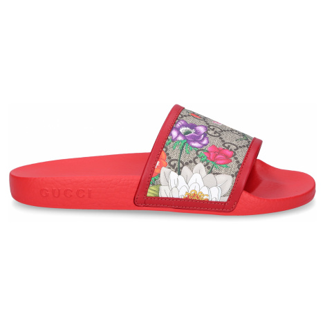 Gucci - Buty Sandały Kąpielowe SUPREME GG FLORA