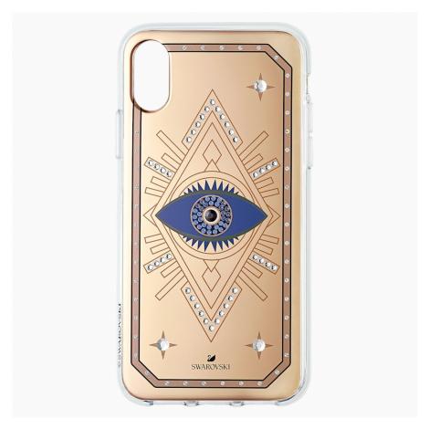 Etui na smartfona Tarot Eye, iPhone® X/XS, różowe złoto Swarovski