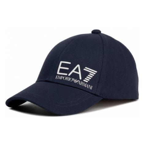 EA7 Emporio Armani Czapka z daszkiem 275936 0P010 00136 Granatowy