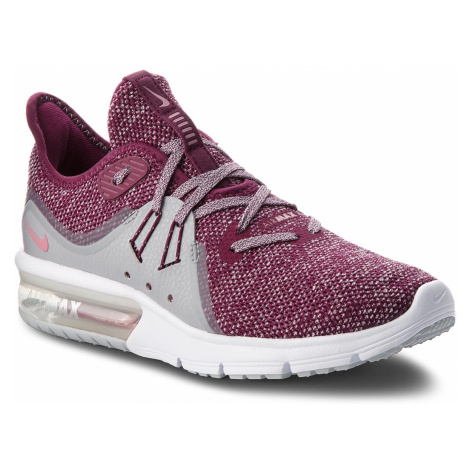 Buty NIKE - Air Max Sequent 3 908993 606 Bordeaux/Elemental Pink