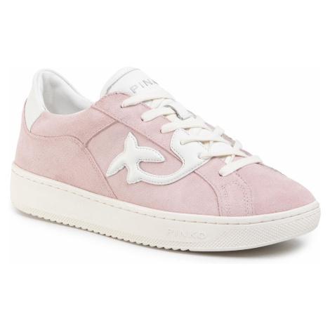 Sneakersy PINKO - Liqoirizia 1 Sneaker PE 20 BLKS1 1H20PX Y61B Rosa/Bianc NZ1