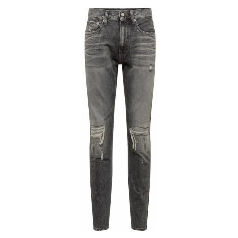 Calvin Klein Jeans Jeansy 'CKJ 056 ATHLETIC TAPER' szary denim