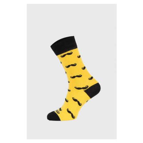 Skarpetki Fusakle Żółty Wąsacz