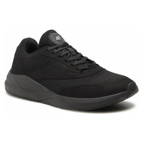 Sneakersy 4F - D4L21-OBML202 Głęboka Czerń