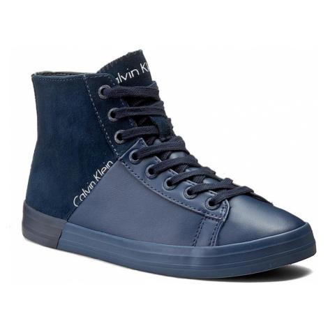 Sneakersy CALVIN KLEIN JEANS - Walta RE9654 Midnight/N