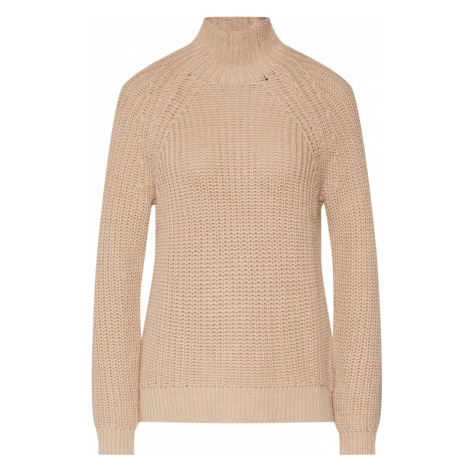 GAP Sweter 'SHAKER TNECK' beżowy