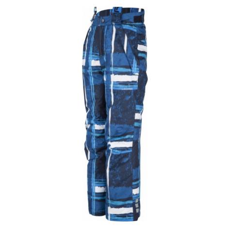 Lewro LYNN 140-170 niebieski 140-146 - Spodnie snowboardowe dziecięce