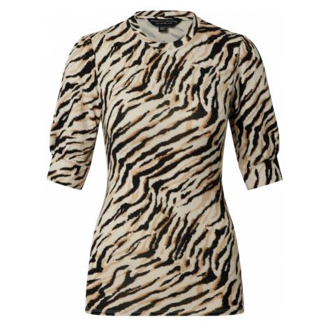 Dorothy Perkins Koszulka czarny / brązowy / jasnobrązowy / beżowy