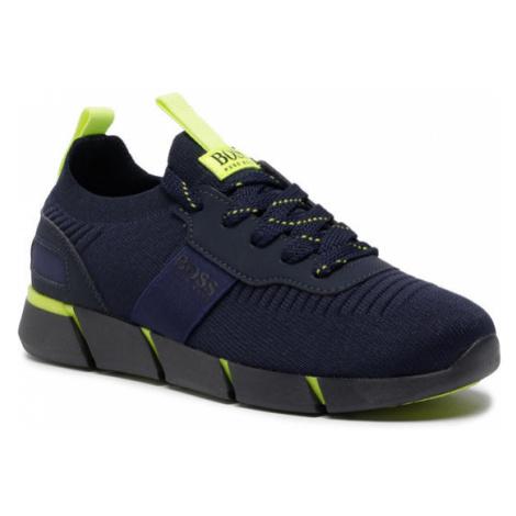 Boss Sneakersy J29217 D Granatowy Hugo Boss