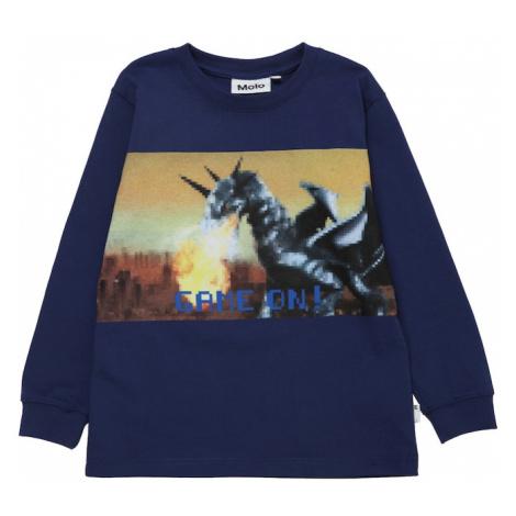 Molo Koszulka 'Rogert' niebieski