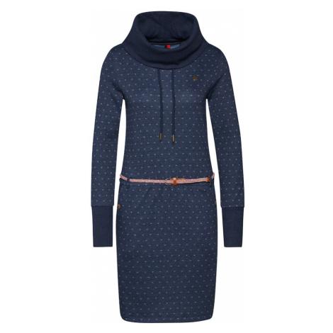 Ragwear Sukienka 'LAURRA B' jasnoniebieski / granatowy / brązowy