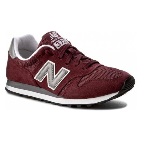 Sneakersy NEW BALANCE - ML373BN Bordowy