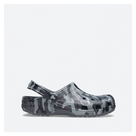 Klapki męskie Crocs Classic Printed Camo Clog 206454 SLATE GREY/MULTI