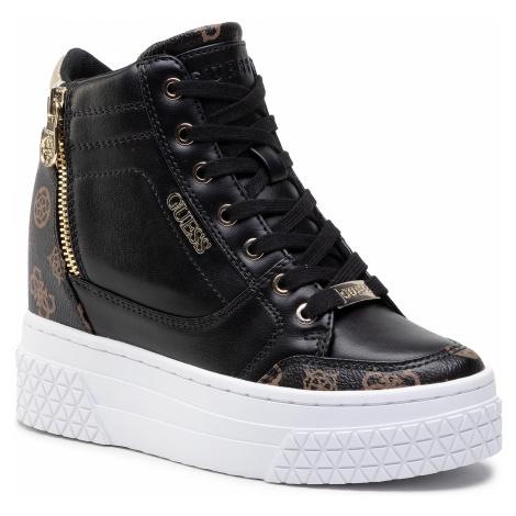 Sneakersy GUESS - FL6RI2 FAL12 BLKBR