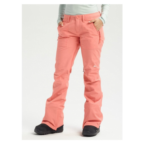 Burton Spodnie snowboardowe Vida 15006104600 Pomarańczowy Slim Fit