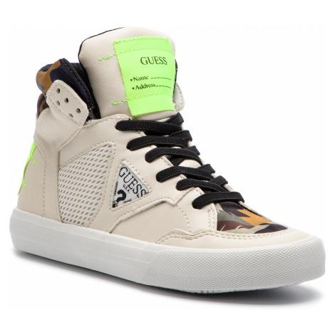 Sneakersy GUESS - Jr Bruce FI5BRU ELE12 BLANC/WHITE