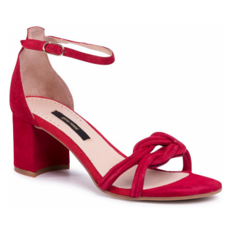 Gino Rossi Sandały A45147 Czerwony