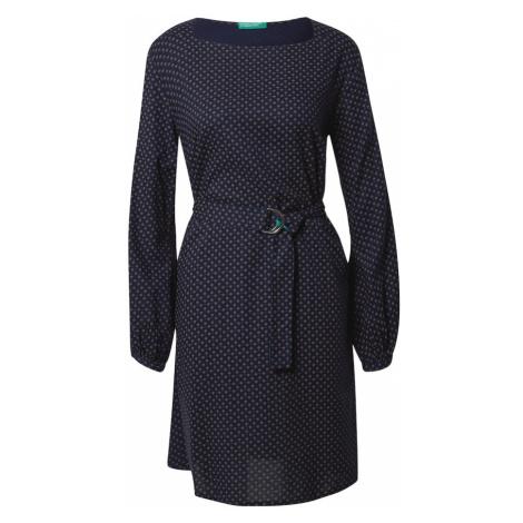 UNITED COLORS OF BENETTON Sukienka niebieski / szary
