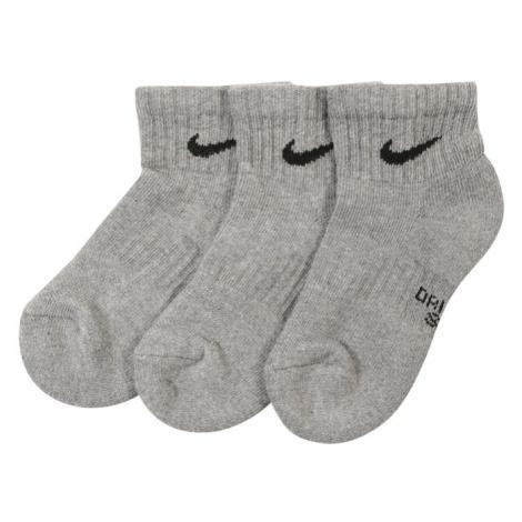 Nike Sportswear Skarpety szary / czarny