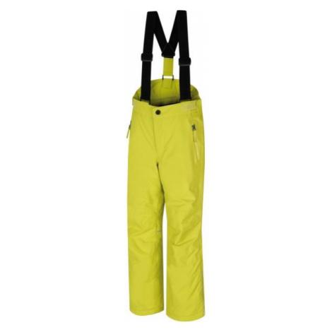 Hannah AMIDALA JR żółty 116 - Spodnie narciarskie dziecięce