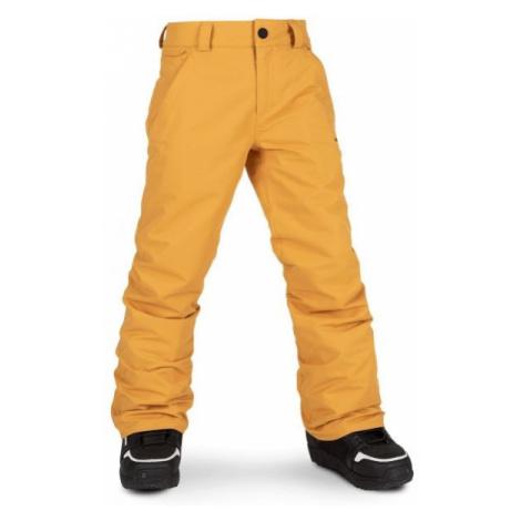 Volcom FREAKIN SNOW CHINO  XS - Spodnie narciarskie/snowboardowe chłopięce