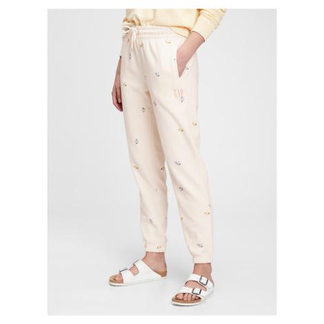 GAP écru damskie spodnie dresowe