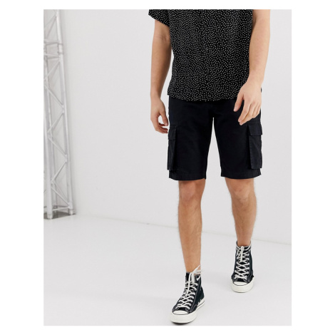 Bellfield cargo shorts in black