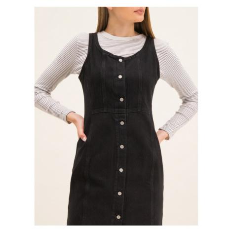 Levi's® Sukienka jeansowa 85386-0000 Czarny Regular Fit Levi´s