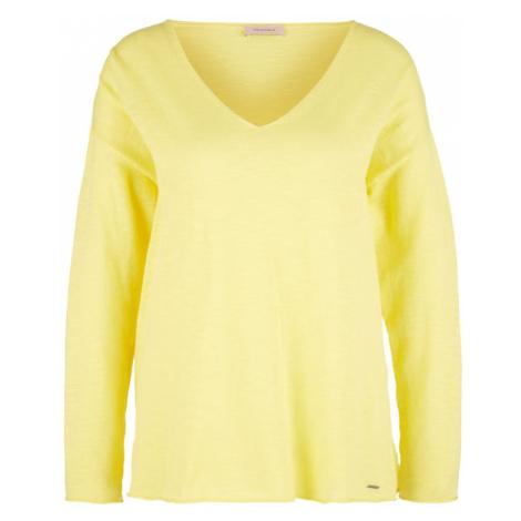 TRIANGLE Sweter żółty