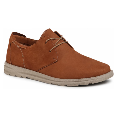 Półbuty LASOCKI FOR MEN - MI07-C749-749-06 Camel