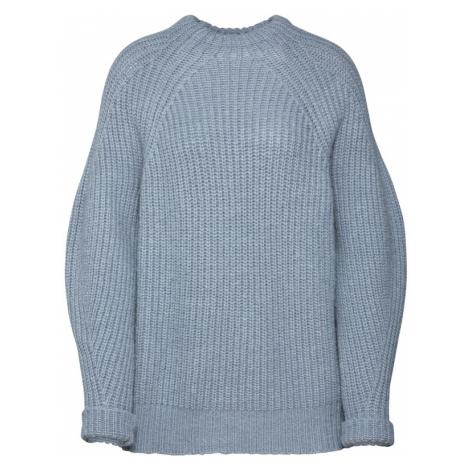 EDITED Sweter 'Lori' podpalany niebieski