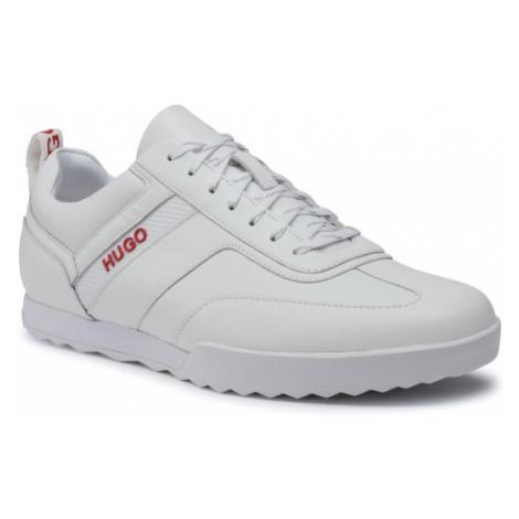 Hugo Sneakersy Matrix 50414647 10214595 01 Biały Hugo Boss