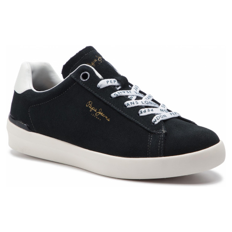 Sneakersy PEPE JEANS - Roland Suede PMS30524 Anthracite 982
