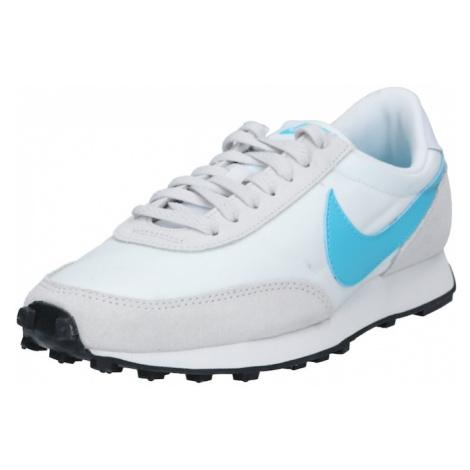 Nike Sportswear Trampki niskie 'Daybreak' jasnoszary / biały / niebieski cyjan